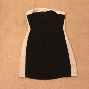 Urban outfitters black and white mini dress